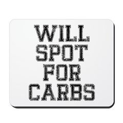 Will spot for Carbs Mousepad