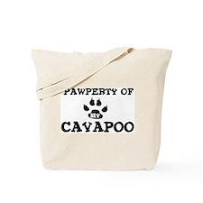 Pawperty: Cavapoo Tote Bag