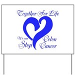 Stop Colon Cancer Yard Sign