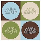 Brain art Posters