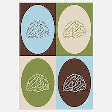 Neuroscience Pop Art Wall Art