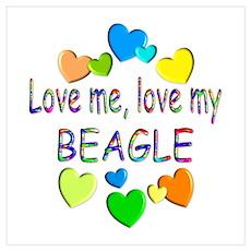 Beagle Wall Art Poster