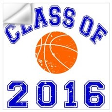 Class Of 2016 Basketball Wall Art Wall Decal