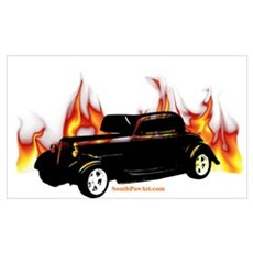 Street Rod 3 Wall Art Poster
