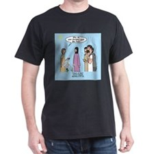 Fishers of Men Cartoon Gospel Cartoon T-Shirt