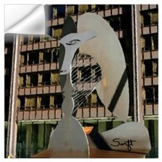 Chicago Picasso Sculpture Wall Art Wall Decal