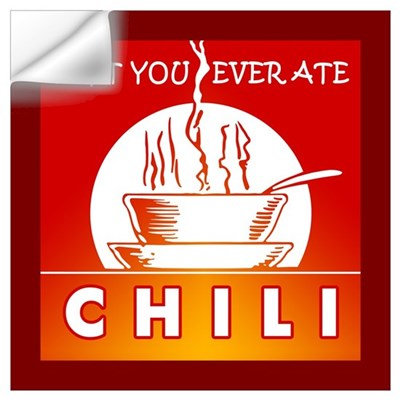 Chili Wall Art Wall Decal