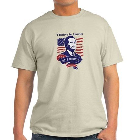 Mitt Romney 2012 Light T-Shirt