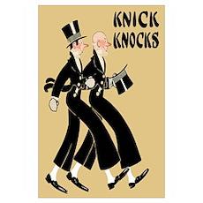 Knick Knocks Vintage Wall Art Poster