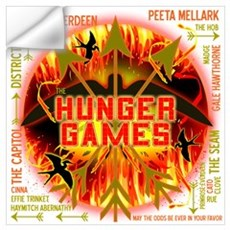 Hunger Games Collective Wall Art Wall Decal