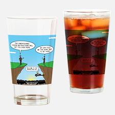 KNOTS GPS Drinking Glass