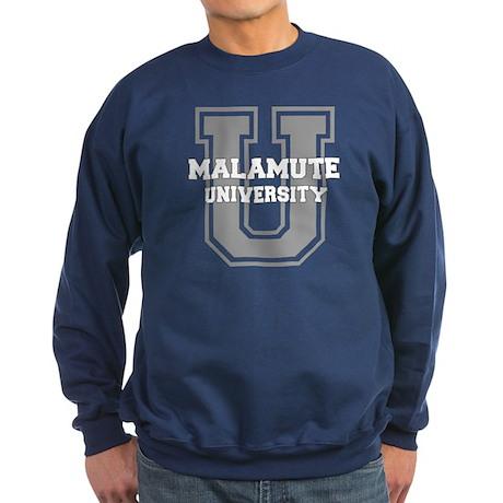 Malamute UNIVERSITY Sweatshirt (dark)