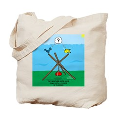 Weather Rock Flood Tote Bag