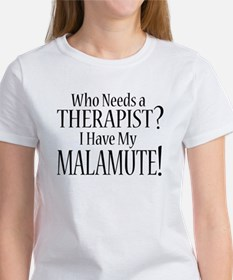 THERAPIST Malamute Women's T-Shirt