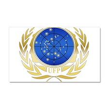 UFP Seal Gold Car Magnet 20 x 12