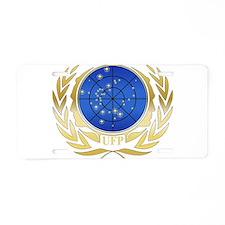 UFP Seal Gold Aluminum License Plate