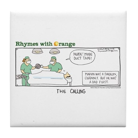 The Calling Tile Coaster