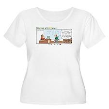 The Fix Women's Plus Size Scoop Neck T-Shirt