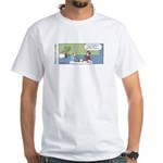 Knitting Problem White T-Shirt