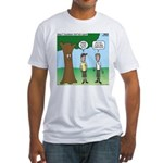 KNOTS Staff Hunt Camp Games Fitted T-Shirt