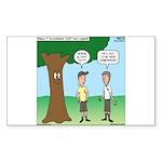 KNOTS Staff Hunt Camp Games Sticker (Rectangle 10