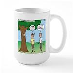 KNOTS Staff Hunt Camp Games Large Mug