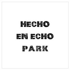 Hecho En Echo Park Wall Art Framed Print