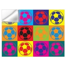 Soccer Pop Art Wall Art Wall Decal