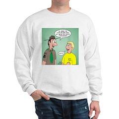 Chaplain's Aide Question Sweatshirt