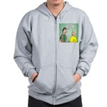Chaplain's Aide Question Zip Hoodie