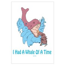 Whale of a Time Jonah Wall Art