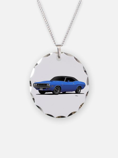 1970 Challenger Light Blue Necklace