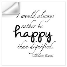 Rather Be Happy Wall Art Wall Decal