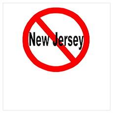 New Jersey Wall Art Poster