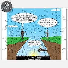GPS Generation Gap Puzzle