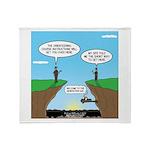 GPS Generation Gap Throw Blanket