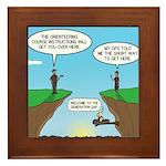 GPS Generation Gap Framed Tile