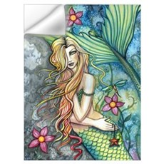 Colorful Mermaid Wall Art Wall Decal