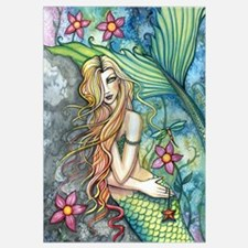 Colorful Mermaid Wall Art