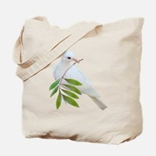 Dove Olive Branch Tote Bag