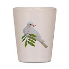 Dove Olive Branch Shot Glass