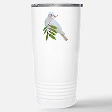 Dove Olive Branch Stainless Steel Travel Mug