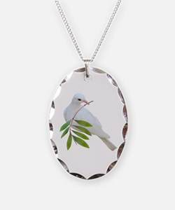 Dove Olive Branch Necklace