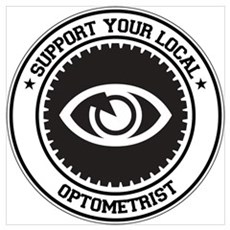 Support Optometrist Wall Art Poster