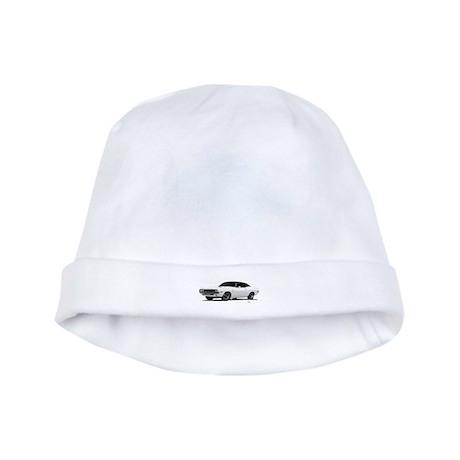 1970 Challenger White baby hat