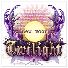 Twilight New Moon Violet Intrigue Wall Art Poster