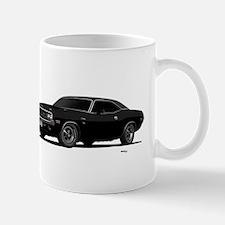 1970 Challenger Black Mug