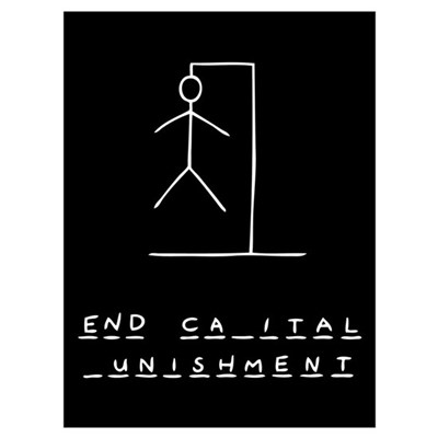 Ironic Hangman Wall Art Poster