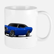 1970 Challenger Bright Blue Mug