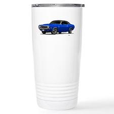 1970 Challenger Bright Blue Travel Mug